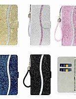 cheap -Case For Huawei P40 Huawei P40 Pro Huawei P40 Lite Wallet Card Holder with Stand Full Body Cases Solid Colored PU Leather TPU for Huawei P10 Lite E Huawei P Smart (2019)