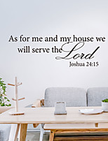 cheap -Characters / Religious Wall Stickers Plane Wall Stickers Decorative Wall Stickers, PVC Home Decoration Wall Decal Wall Decoration 1pc