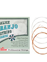 cheap -NAOMI Alice Banjo Strings AJ07 Plated Steel Coated Copper Alloy Wound Strings Banjo Accessories