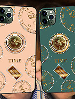 cheap -Case For Apple iPhone 6 6 Plus 6s 6s Plus iPhone 7 7P iPhone 8 8P iPhone X XS XR XS max iPhone 11 11 Pro 11 Pro Max Shockproof Ring Holder Pattern Back Cover Geometric Pattern TPU