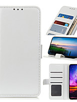 cheap -Case For Samsung Galaxy S20 S20Plus S20Ultra S10lite A91 A81 A21 A01 A70E A41 M31 M11 A71(5G) XCover Pro Card Holder Shockproof Magnetic Full Body Cases Solid Colored PU Leather TPU