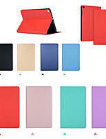 cheap -Case For Apple iPad Pro 11'' / Ipad Pro 11''2020 Flip / Auto Sleep / Wake Up Full Body Cases Solid Colored PU Leather / TPU
