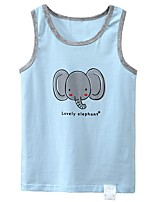 cheap -Kids Boys' Basic Blue Animal Print Sleeveless Tank & Cami Light Blue