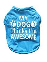 cheap -new cute small pet stripe t-shirt cotton puppy dog clothes (s, 1#blue)