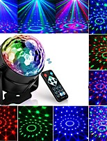 cheap -Projection lamp night light Led Disco Light Music Sound Activated Stage Lights Mini Rotating Laser Projector Christmas Party Show Effect Lamp with Control