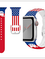 cheap -Watch Band for Apple Watch Series 6 SE 5 4 3 2 1  Apple Sport Band / Business Band Silicone Wrist Strap