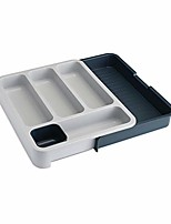 cheap -85042 drawerstore expandable cutlery tray, gray