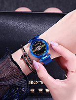 cheap -Women's Quartz Watches Quartz Stylish Fashion Adorable Rose Gold Analog - Rose Gold Black Blue One Year Battery Life