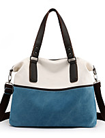 cheap -Women's Bags Canvas Top Handle Bag Zipper for Daily / Date Black / Fuchsia / Sky Blue / Gray