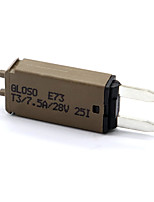 cheap -Manually resettable 7.5A small fuses 12/24V automotive fuses