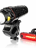 cheap -bike light set, usb smart sensor headlight waterproof with free tail light runtime 10+ hrs bright rechargeable front lights 350 lm, 4 light mode for fits all bicycles