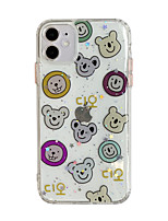 cheap -Personalized Case For Apple iPhone 11 Unique Design Pattern Shockproof Dustproof Back Cover TPU Case for iPhone 11 Pro/11 Pro Max/7/8/7P/8P/SE 2020/X/Xs/Xs MAX/XR