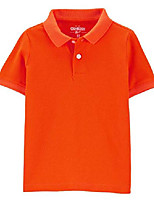 cheap -osh kosh boys& #39; short sleeve uniform polo, hazard orange, 10