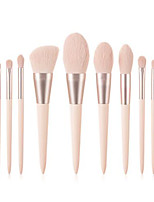cheap -Professional Makeup Brushes 11pcs Professional Soft Full Coverage Comfy Artificial Fibre Brush Wooden / Bamboo for Eyeliner Brush Makeup Brush Eyeshadow Brush