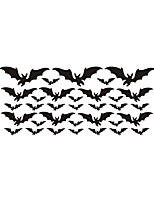 cheap -25*57cm Halloween Bat Wall Stickers DIY Creative Indoor  Wall Decoration