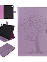 cheap -Case For Apple iPad Mini 1 2 3 iPad Mini 4 iPad Mini 5 Card Holder with Stand Pattern Full Body Cases Animal Tree PU Leather