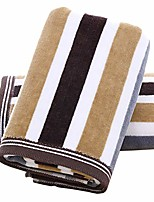 cheap -hand towels set of 2 striped pattern 100% cotton absorbent soft towel for bathroom 13 x 29.5 inch & #40;blue& #41;