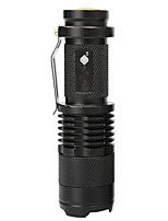 cheap -LED Bike Light LED Flashlights / Torch Waterproof Front Bike Light Bicycle Cycling Waterproof Super Bright LED 14500 6 lm Warm White Camping / Hiking / Caving Everyday Use Cycling / Bike