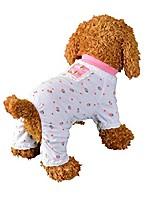 cheap -unisex pet clothes, puppy dog cats vest tracksuit coat sweater (white)