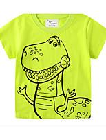 cheap -Kids Boys' Basic Animal Print Short Sleeve Tee Orange