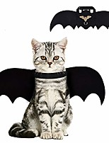 cheap -cat bat costume,halloween cat bat wings for pets,cat halloween collar pet apparel for small dogs and cats,comfort material pet costume for halloween