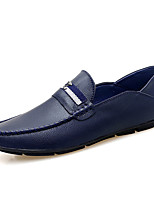 cheap -Men's Summer Outdoor Loafers & Slip-Ons PU White / Black / Blue