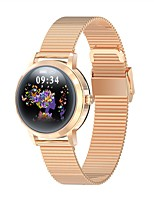 cheap -LW10 Women's Smartwatch Android iOS Bluetooth Heart Rate Monitor Blood Pressure Measurement Calories Burned Health Care Blood Oxygen Monitor Pedometer Call Reminder Sleep Tracker Sedentary Reminder