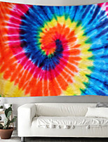 cheap -Indian mandala wall hanging tapestry spiral color smudge beach carpet blanket tent travel mattress bohemian sleeping pad tapestry