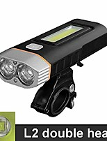 cheap -night light bicycle riding accessories equipped mountain bike riding flashlight charging bicycle light (color : l2)