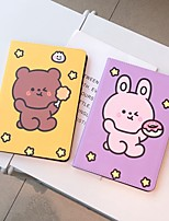 cheap -Case For Apple iPad Pro 11  Ipad Pro 11 inches 2020 with Stand Flip Full Body Cases PU Leather TPU Protective Stand Cover Pattern bear cute stars lovely