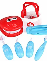 cheap -9pcs play doctor kit for kids, pretend play dentist tools medical set for kids, doctor role play tool, dentist toy doctor kit for toddlers boys girls