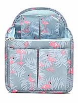 cheap -backpack organizer insert travel rucksack purse insert in bags divider foldable nylon shoulder bag organizer, flamingo