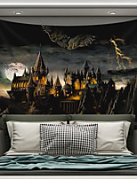 cheap -Wall Tapestry Art Decor Blanket Curtain Picnic Tablecloth Hanging Home Bedroom Living Room Dorm Decoration Polyester Novelty Castle