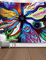 cheap -Wall Tapestry Art Decor Blanket Curtain Picnic Tablecloth Hanging Home Bedroom Living Room Dorm Decoration Polyester Print Colorful Cartoon Character Abstract