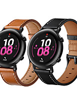 cheap -Watch Band for Samsung Galaxy Watch 46mm  Samsung Galaxy Watch 42mm Samsung Galaxy Active Samsung Galaxy Leather Loop Genuine Leather Wrist Strap
