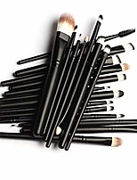 cheap -best makeup brushes - 11pc makeup brush set - used by celebrity youtubers. eco & vegan friendly.top grade long lasting materials. soft on skin. luxury holder case. how-to instructions included.