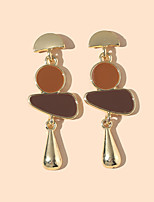cheap -Women's Drop Earrings Earrings Simple Vintage Trendy Earrings Jewelry Gold For Vacation 1 Pair
