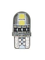 cheap -10pcs T10 194 168 3030 4SMD LED Silicone Interior Dome Map Lights Clearance light Canbus License Plate Light Car Styling 12V