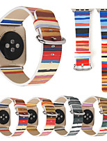 cheap -Watch Band for Apple Watch Series 6 SE 5 4 3 2 1  Apple Classic Buckle Genuine Leather Wrist Strap
