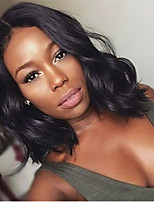 cheap -Synthetic Wig Curly Middle Part Wig Short Black Synthetic Hair Women's Fashionable Design Comfortable Exquisite Black