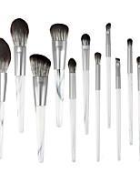 cheap -12 Pcs Makeup Brush Set Wooden Handle Dali Pattern Makeup Brush Set Beauty Tools Makeup Brush Set