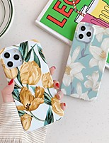 cheap -Case For Apple iPhone 7 8 7plus 8plus X XR XS XSMax SE(2020) iPhone 11 11Pro 11ProMax iPhone 12 Shockproof Ultra-thin Pattern Back Cover Flower TPU