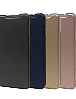cheap -Case For Samsung Galaxy S7 edge S8 Plus A3 A5 A5 A8 A8Plus S9 S9Plus J2 Prime J5 Prime J7 Prime J7 Plus J4 J6 A6 Plus NOTE 8 9 A9 Star A Card Holder Flip Full Body Cases Solid Colored PU Leather TPU