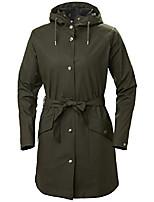 cheap -helly hansen women's kirkwall ii modern fully waterproof windproof hooded raincoat jacket, 482 beluga, x-large