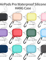 cheap -Earphone Case For AirPods Pro Waterproof Silicone Hang Headphone Case