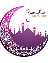 cheap -45*45cm Muslim Wall Sticker Middle East Ramadan Culture Living Room Decoration PVC Decorative Door Sticker