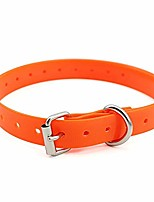 cheap -extra dog collar strap - replacement part for dog training shock collars (orange)