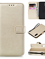 cheap -Case For Samsung Galaxy Note 10 Note 10 Plus A01 A11 A41 A21 A51 M40S A71 A81 M60S Note 10 Lite A71 5G A91 M80S S10 Lite A51 5G  Card Holder Flip Magnetic Full Body Cases Solid Colored PU Leather
