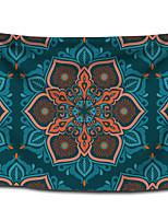 cheap -Wall Tapestry Art Decor Blanket Curtain Picnic Tablecloth Hanging Home Bedroom Living Room Dorm Decoration Polyster Bohemia Mandala Blue Orange View