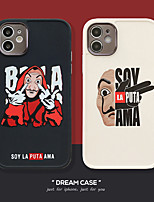 cheap -Case For Apple iPhone 11 Shockproof / Dustproof / Plating Back Cover Word / Phrase TPU For Case iphone 11 Pro/11 Pro Max/7/8/7P/8P/SE 2020/X/Xs/Xs MAX/XR